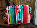 Serape Makeup Bag