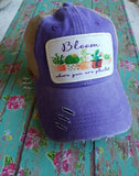 Bloom Where you are Planted Cap