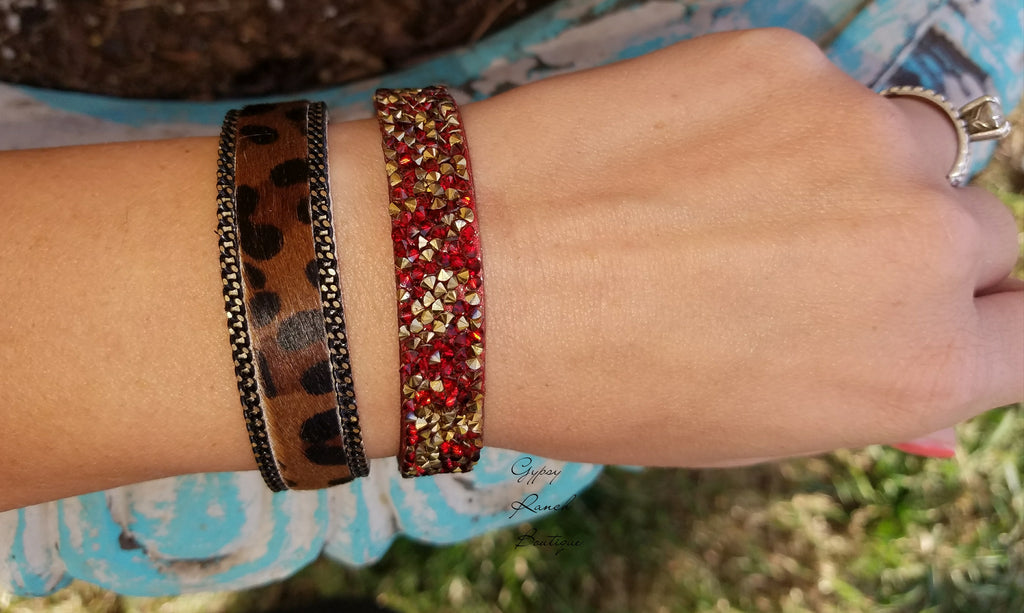 Leopard Bracelets - Several Colors