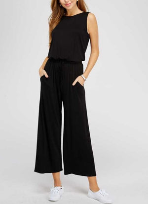 The Perfect Black Jumpsuit