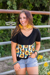 Jennay Sunflower Stripe Top - Also in Plus Size