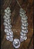 Prescott Black Concho Necklace