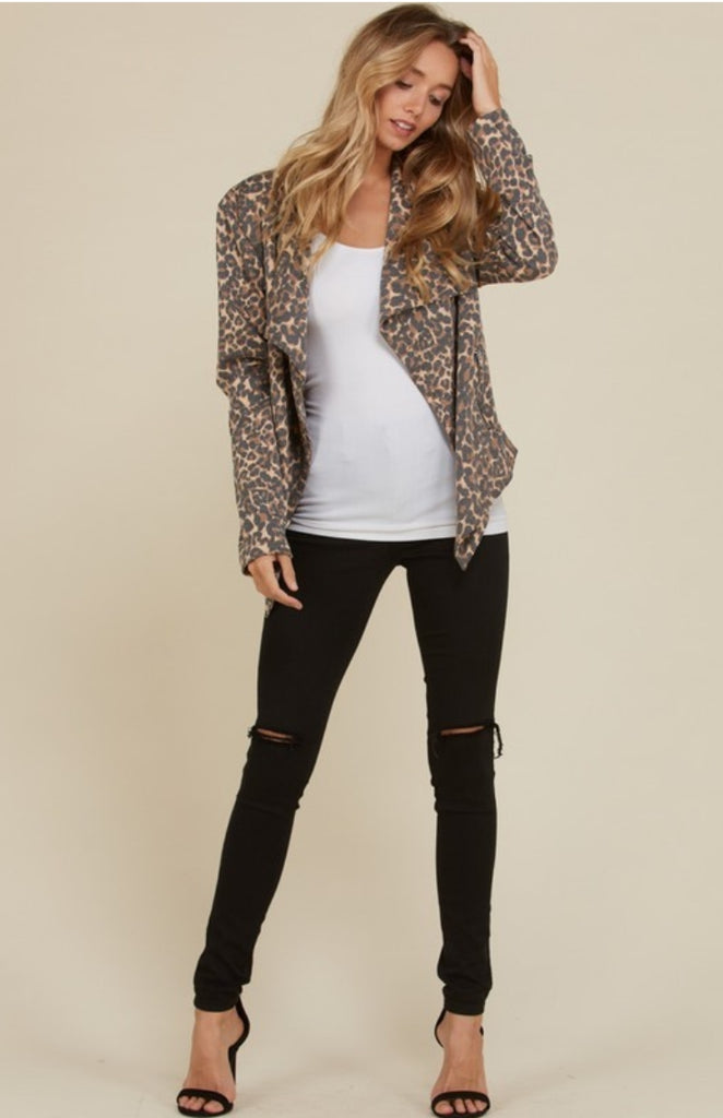 Luxury Leopard Cardigan