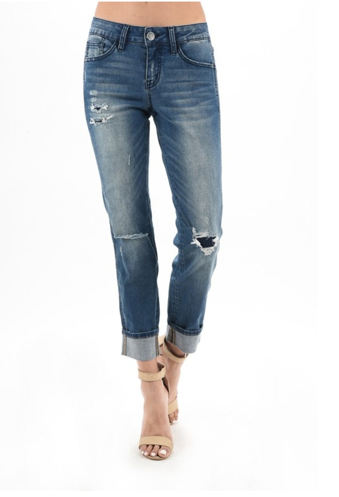 3de15eeb4690c Tyler Distressed Jeans - Also in Plus Size – Gypsy Ranch Boutique