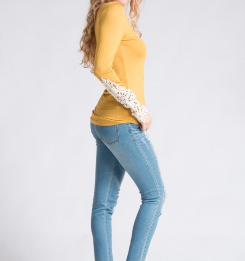 Mustard Obsession Top