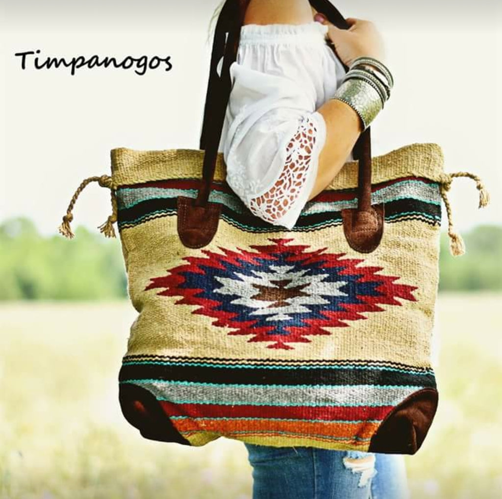 Angel Fire Navajo Bag