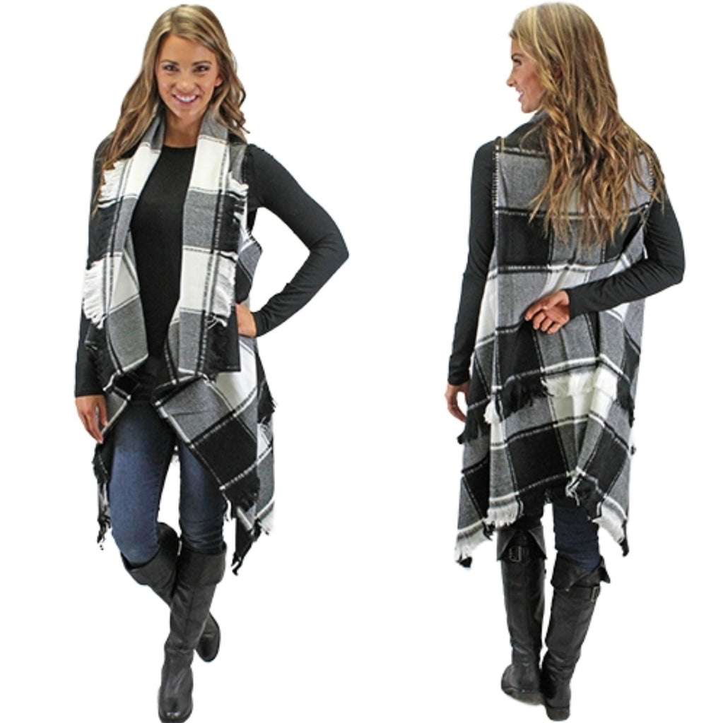 Pride of Plaid Vest - Also in Plus Size