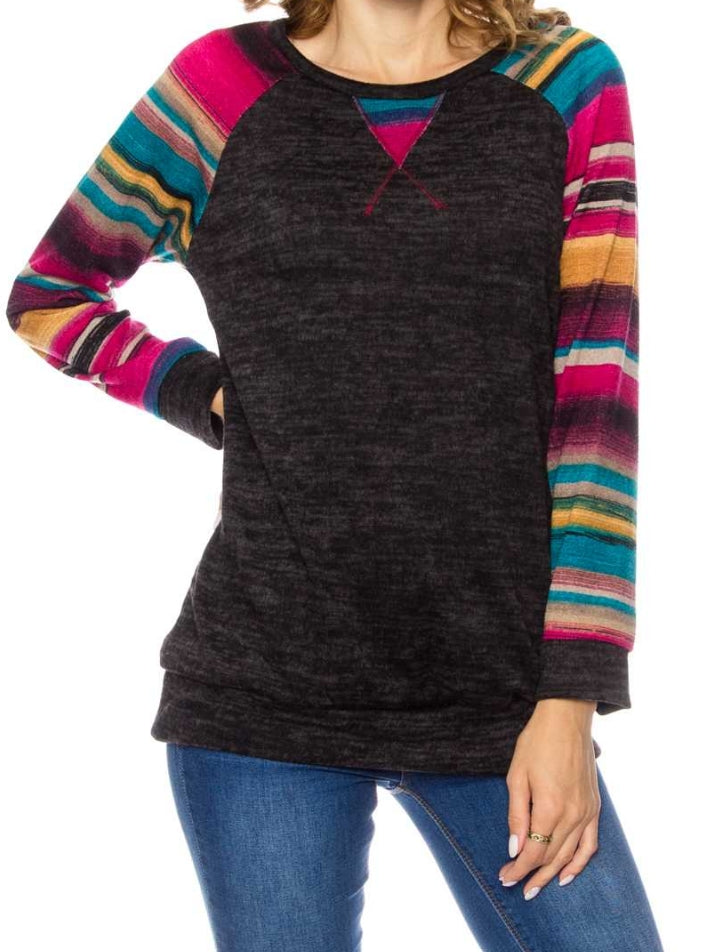 Chaynee Serape Top - Also in Plus Size
