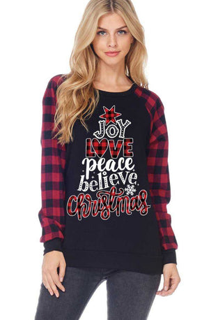 Christmas Time Top - Also in Plus Size