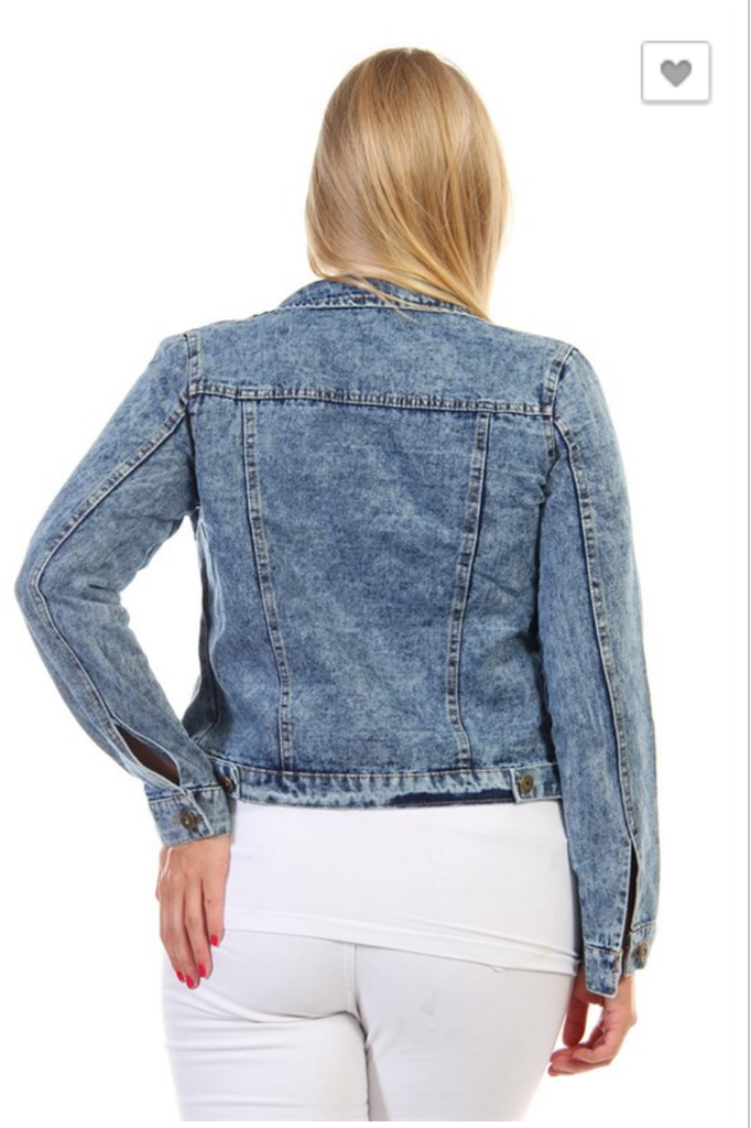Take Me Downtown Denim Jacket