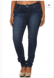 Legend Denim Skinny Jeans - Plus Size