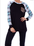 Timeless Travel Sequin Pocket Top - Also in Plus Size