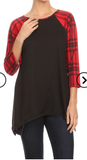 Crushin on Plaid Top - Also in Plus Size