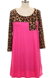 For What It's Worth Leopard Top - Plus Size