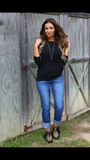 Crusin to the Radio Solid Dolman Top - Also in Plus Size