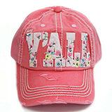 Floral YALL Cap
