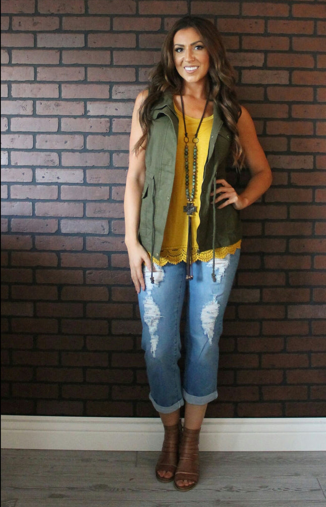 Grand Avenue Serape Cross Vest