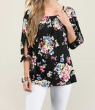 Mallory Floral Top - Also in Plus Size