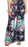 Endless Floral Palazzo Pants - Also in Plus Size
