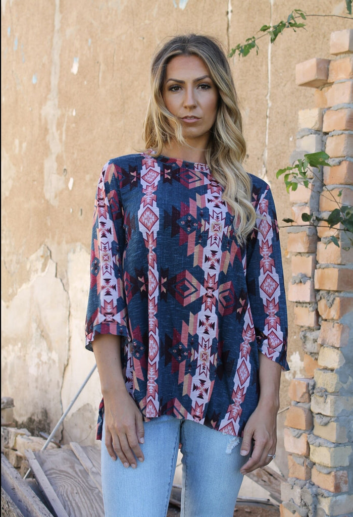 Classic Flair Tribal  Top