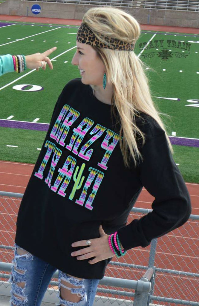 Crazy Train Pullover - Also in Plus Size