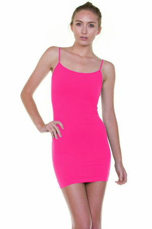 Extra Long Seamless Cami - several colors