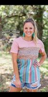 Dust on the Bottle Serape Top - Also in Plus Size