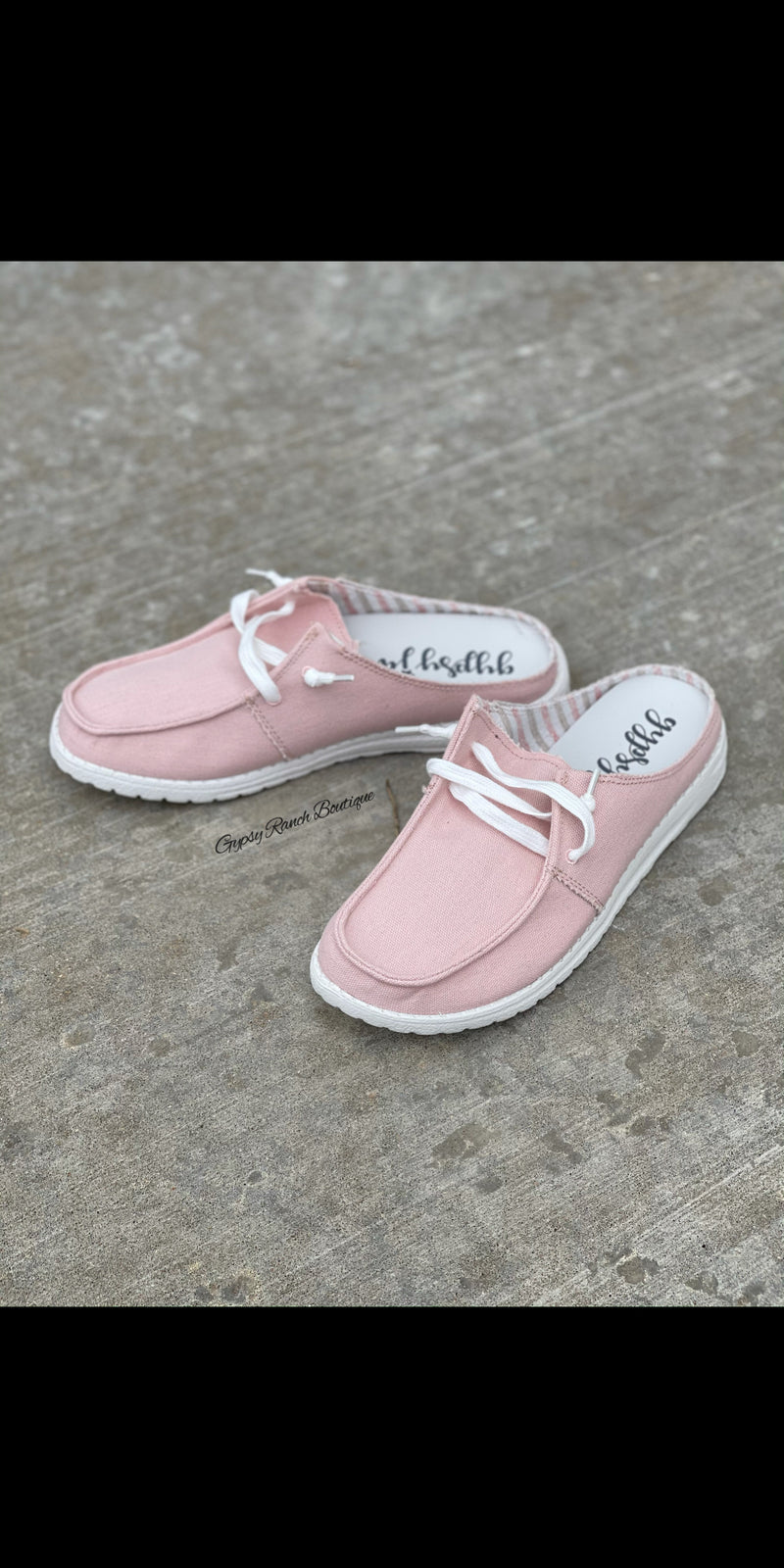 Sailor Gypsy Jazz BLUSH Slip On Shoes