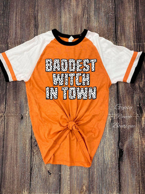 Baddest Witch In Town - Also in Plus Size