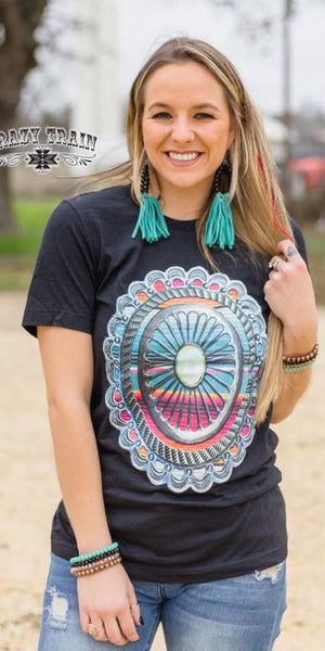 Wild Horse Concho Top - Also in Plus Size