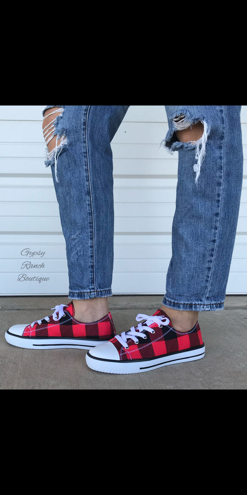 Tuscaloosa Buffalo Plaid Shoes