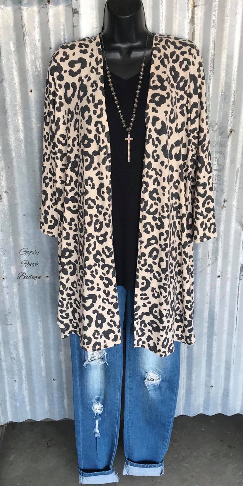 Future Bay Leopard Cardigan - Also in Plus Size