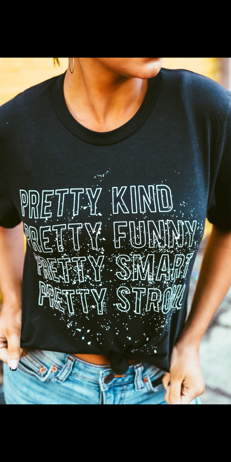 Pretty Kind Pretty Funny Top - Also in Plus Size