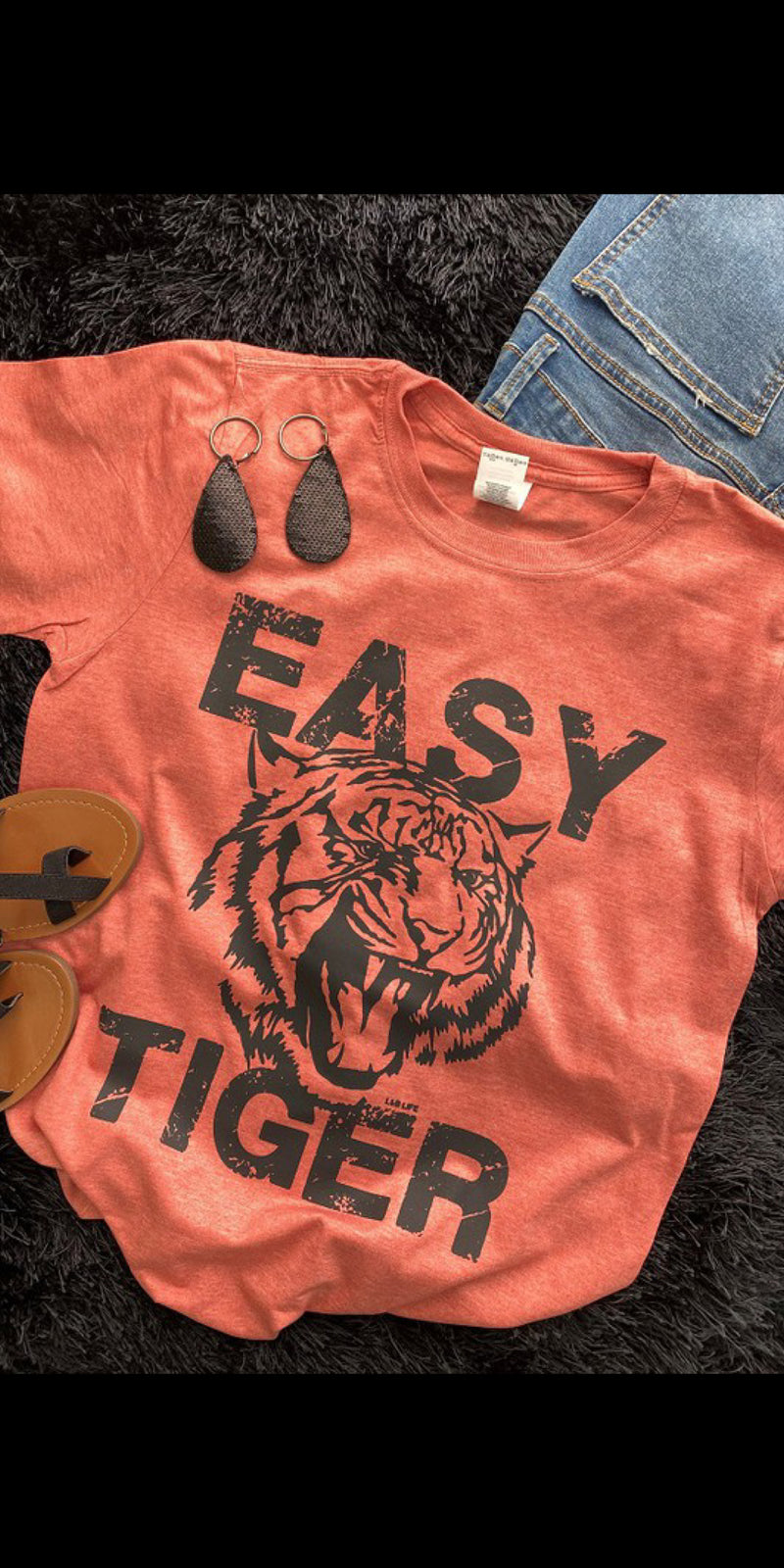 Easy Tiger Top - Also in Plus Size