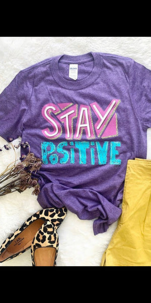 Stay Positive Top - Also in Plus Size