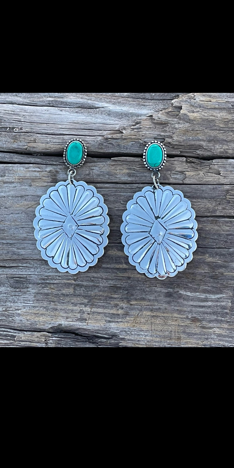 Down Home Concho Earrings