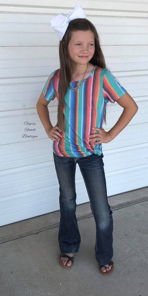Kids Sienna Serape Top