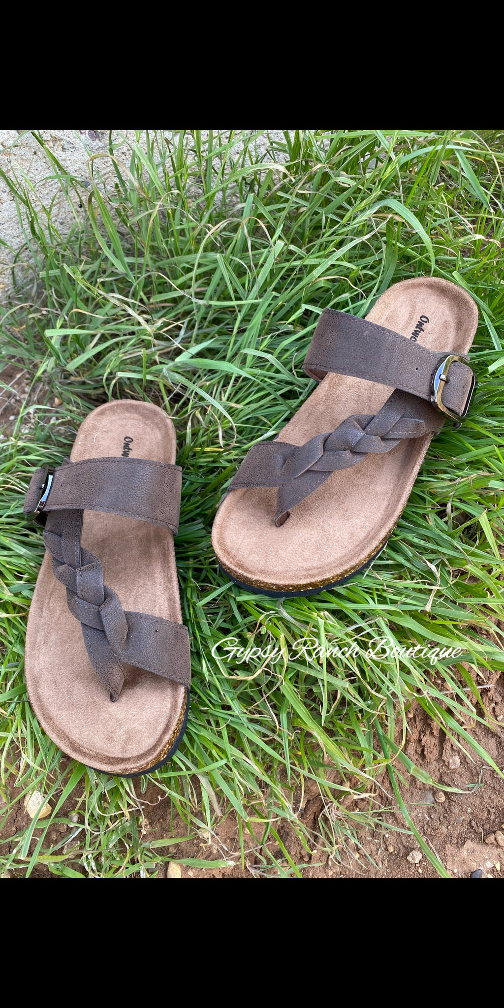 Kids - The Miami Braided Sandals