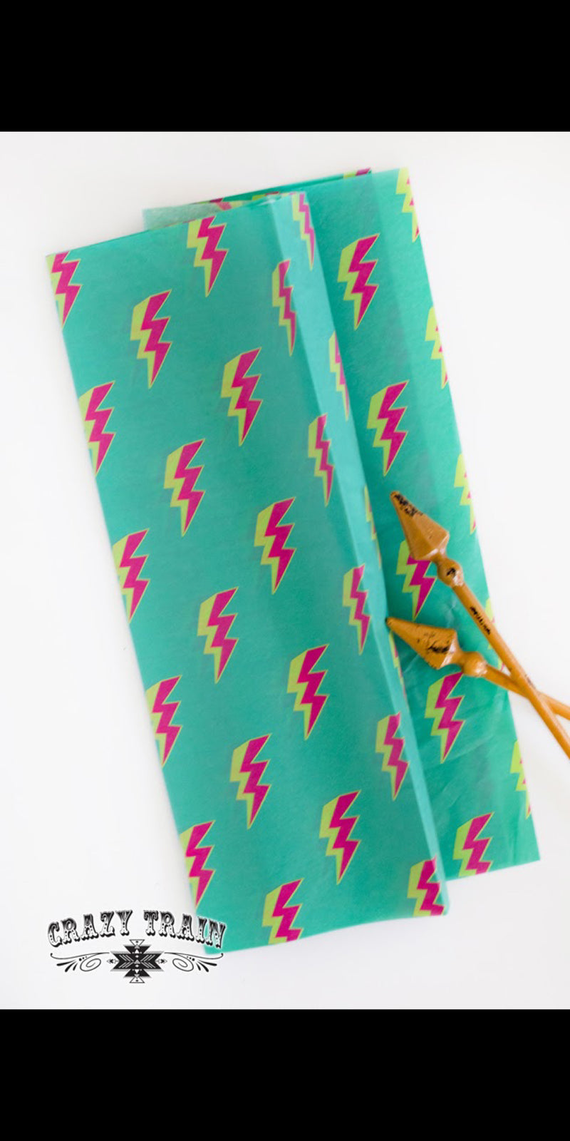 Lightning Bolt Tissue Paper