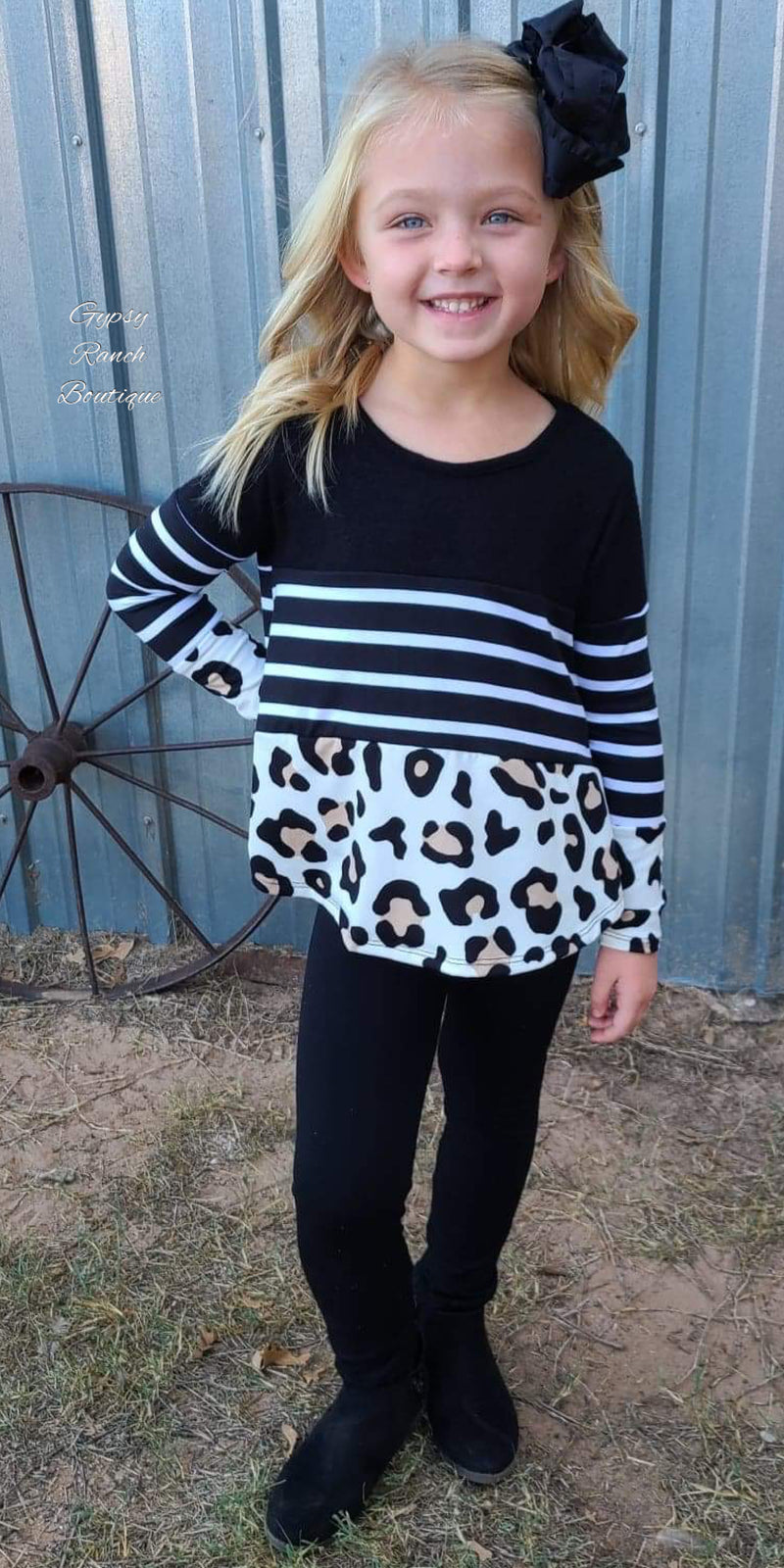 Calissa Leopard Stripe Kids