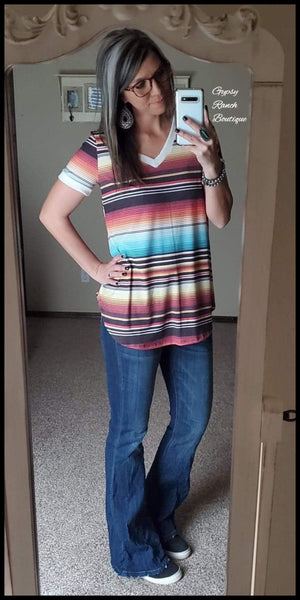 Fremont Serape Top - Also in Plus Size