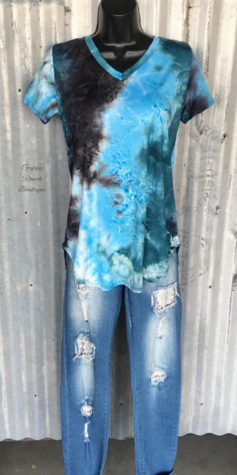 High Tide Tye Dye Top - Also in Plus Size
