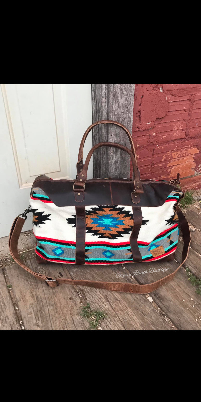 Burnett Ranch Navajo Weekender Duffle Bag
