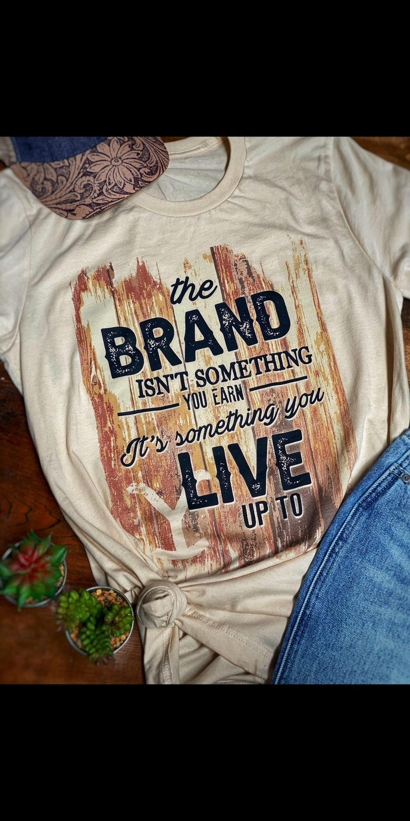 Live for the Brand Top - Also in Plus Size