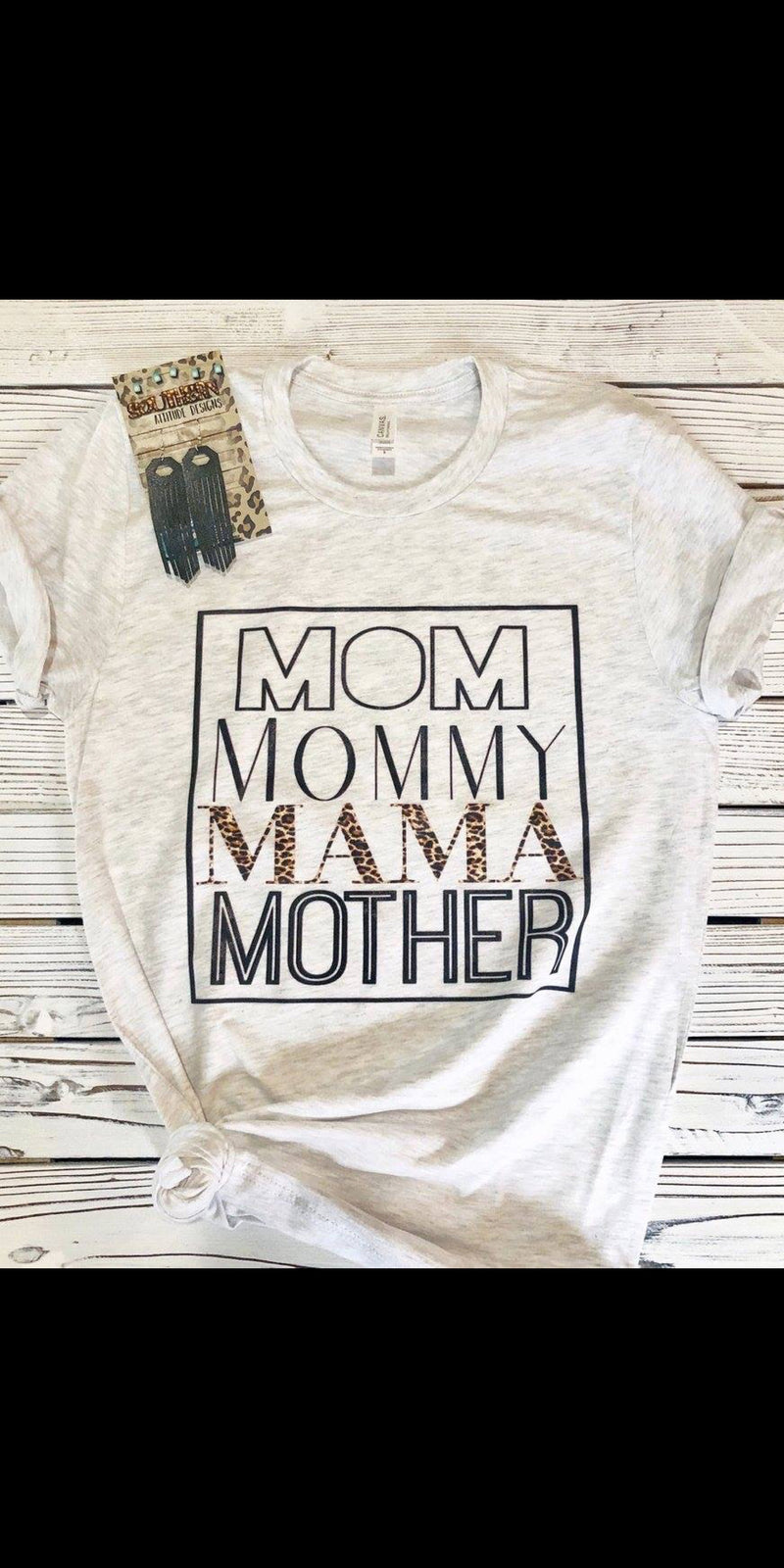 MOM MOMMY MAMA MOTHER Top - Also in Plus Size