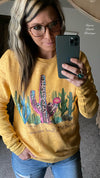 Cactus Don't Let the Tame Ones Change You Sweatshirt - Also in Plus Size