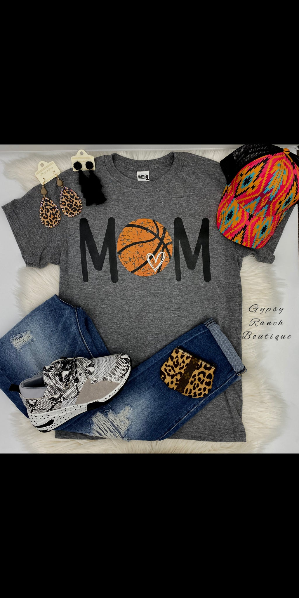 MOM Basketball Top - Also in Plus Size