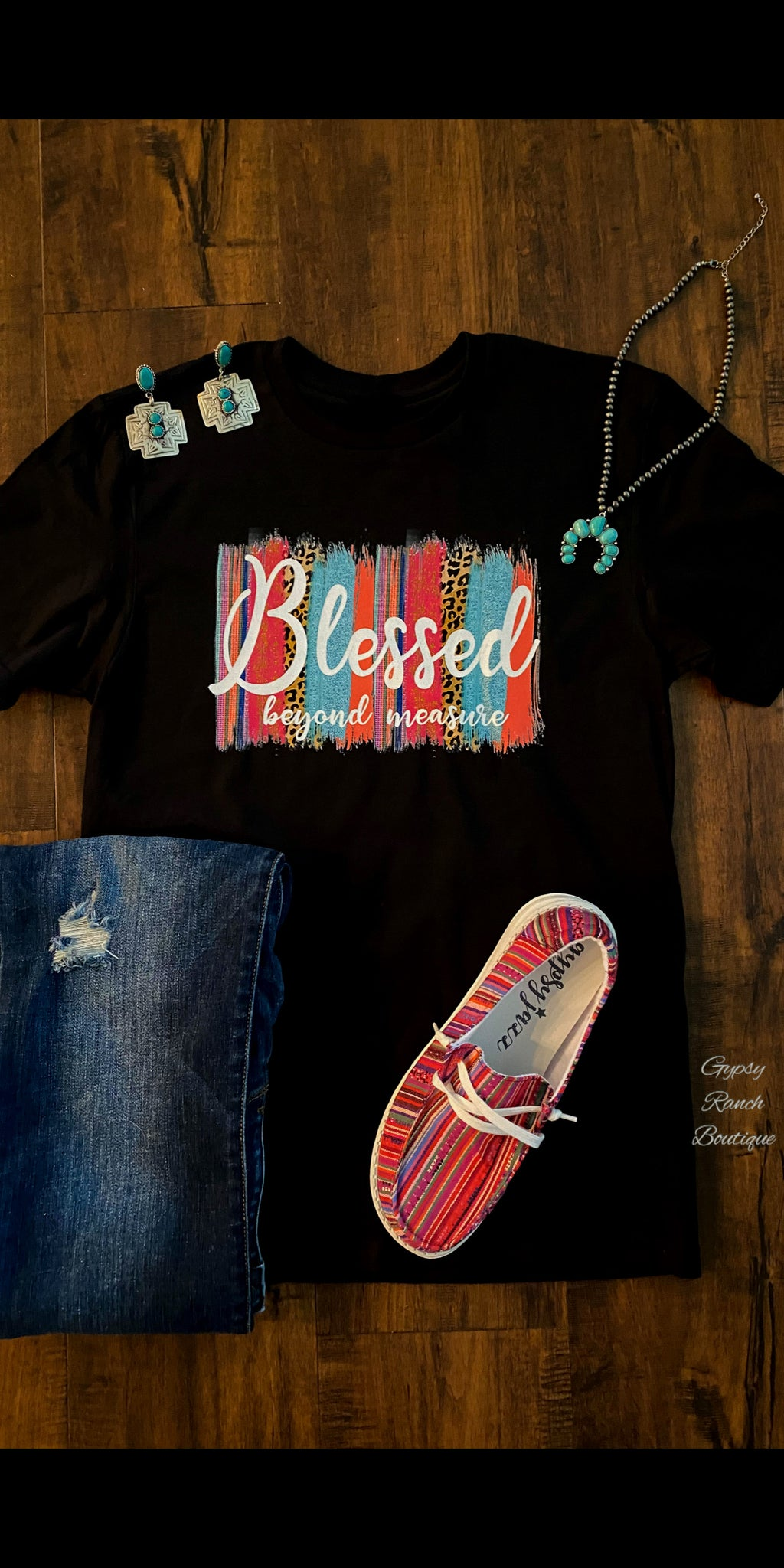Blessed Beyond Measure Top - Also in Plus Size