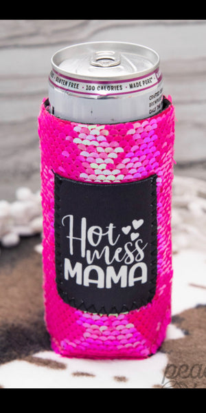 Hot Mess MaMa Slim Can Bottle Koo-Z