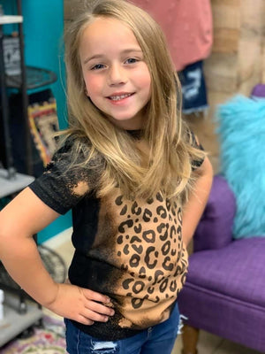 Kids - Leopard Stay Wild Top